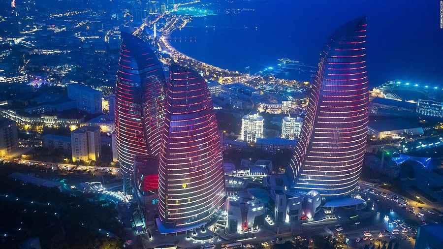 Fairmont Baku, Flame Towers 5